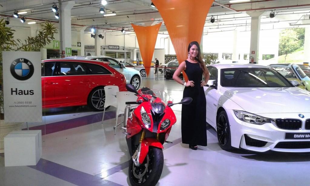 Ação stands da Haus BMW e Terra Forte LEXUS